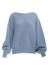 Be Pure Knit pullover lavender