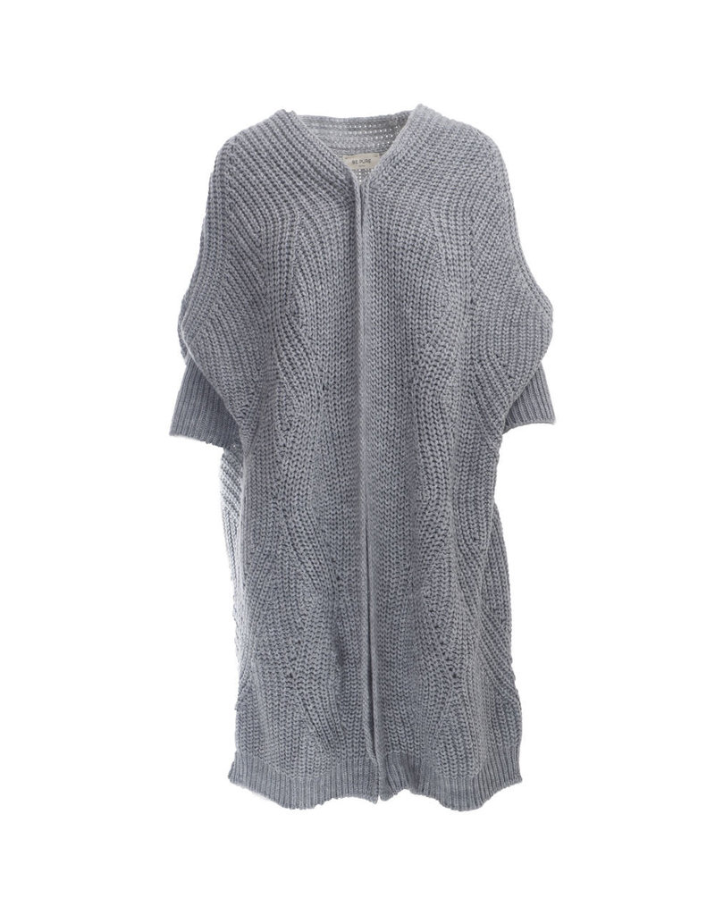 Be Pure Knit cardigan grey