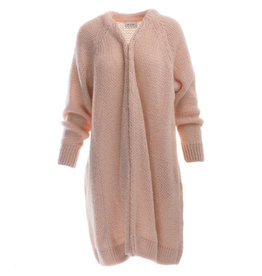 Be Pure Knit cardigan peach