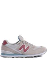 New Balance Sneaker WL996 White/beige