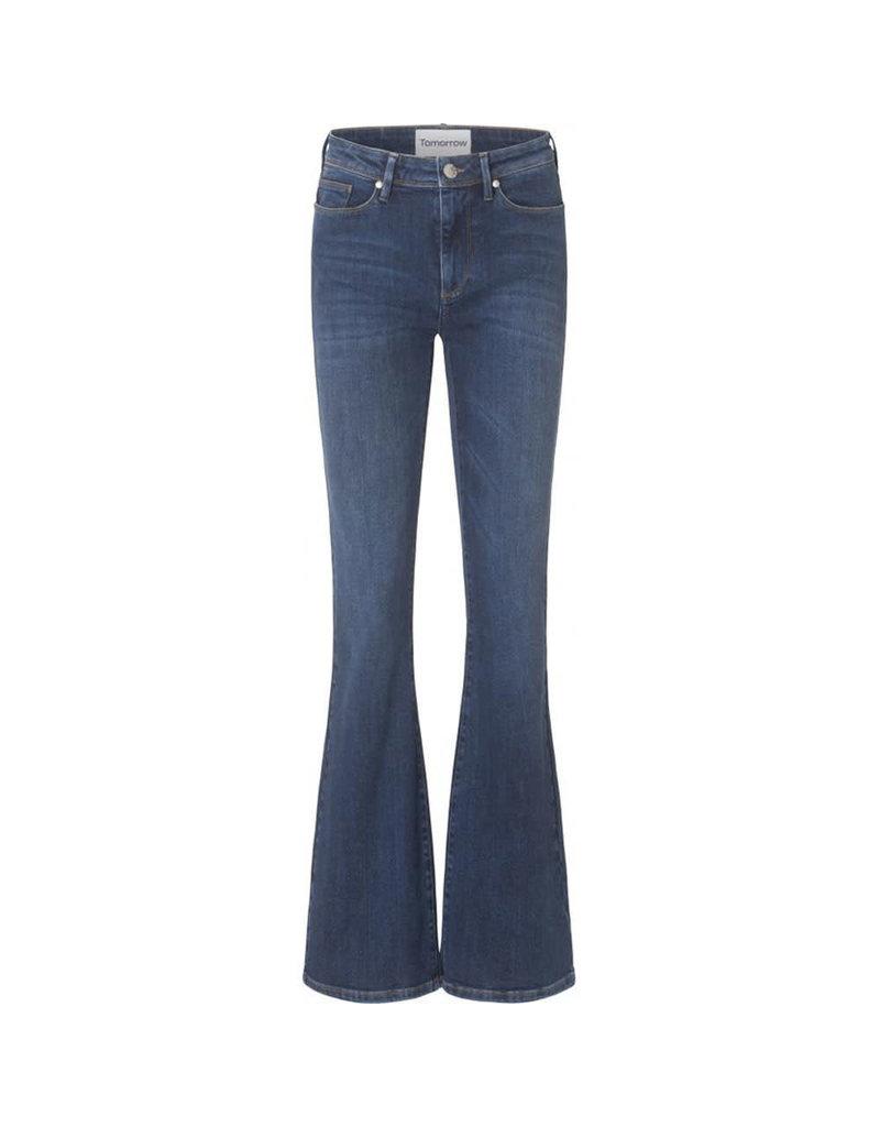 Tomorrow Albert flare jeans denimblue