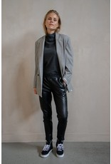 Penn&Ink Real leather trouser black