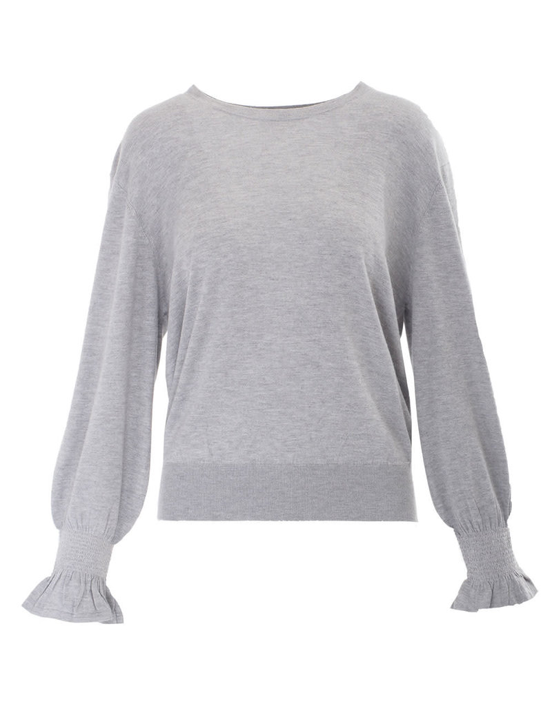 Repeat Pull bamboo/cashmere light grey