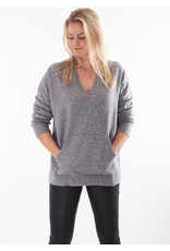 Repeat Pullover light grey