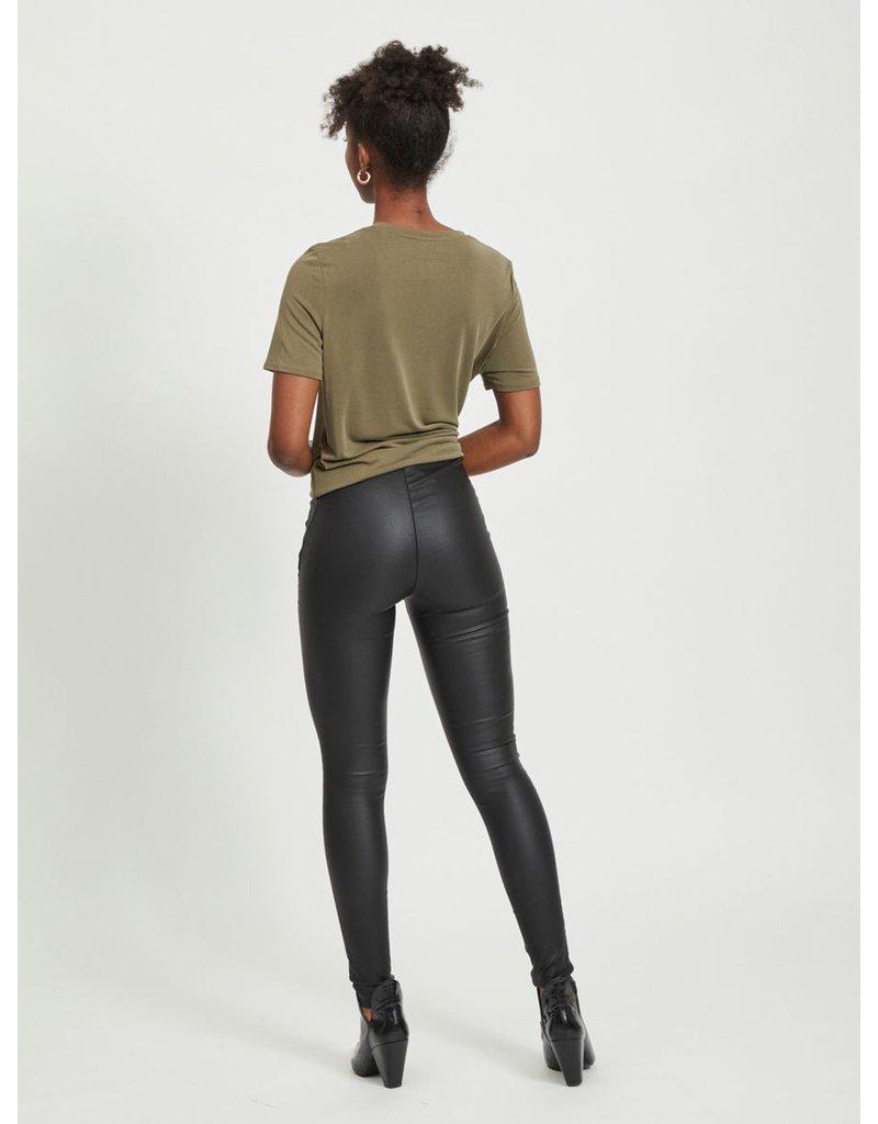 Object Coated legging belle black