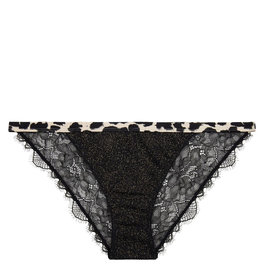 LoveStories Brief wild rose knit zwart
