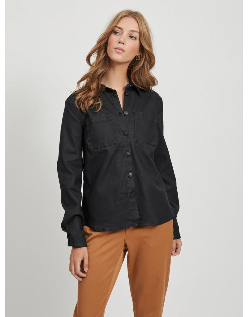 Object Coated shirt belle