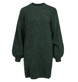 Object Dress Eve nonsia ls knit groen