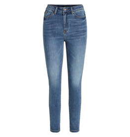 Object Win skinny jeans mid blauw