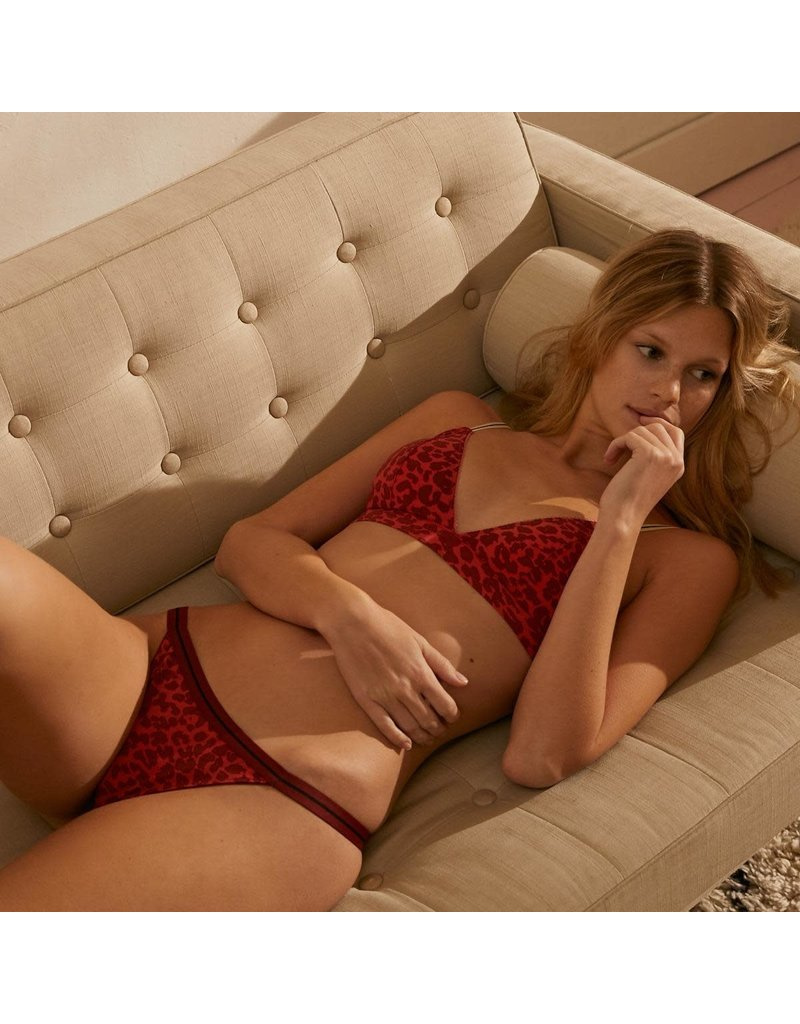 LoveStories Bra darling padded knit leopard