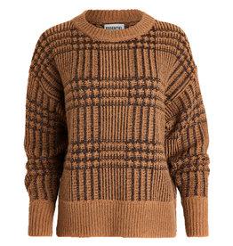 Essentiel Pullover Werfect lurex tartan