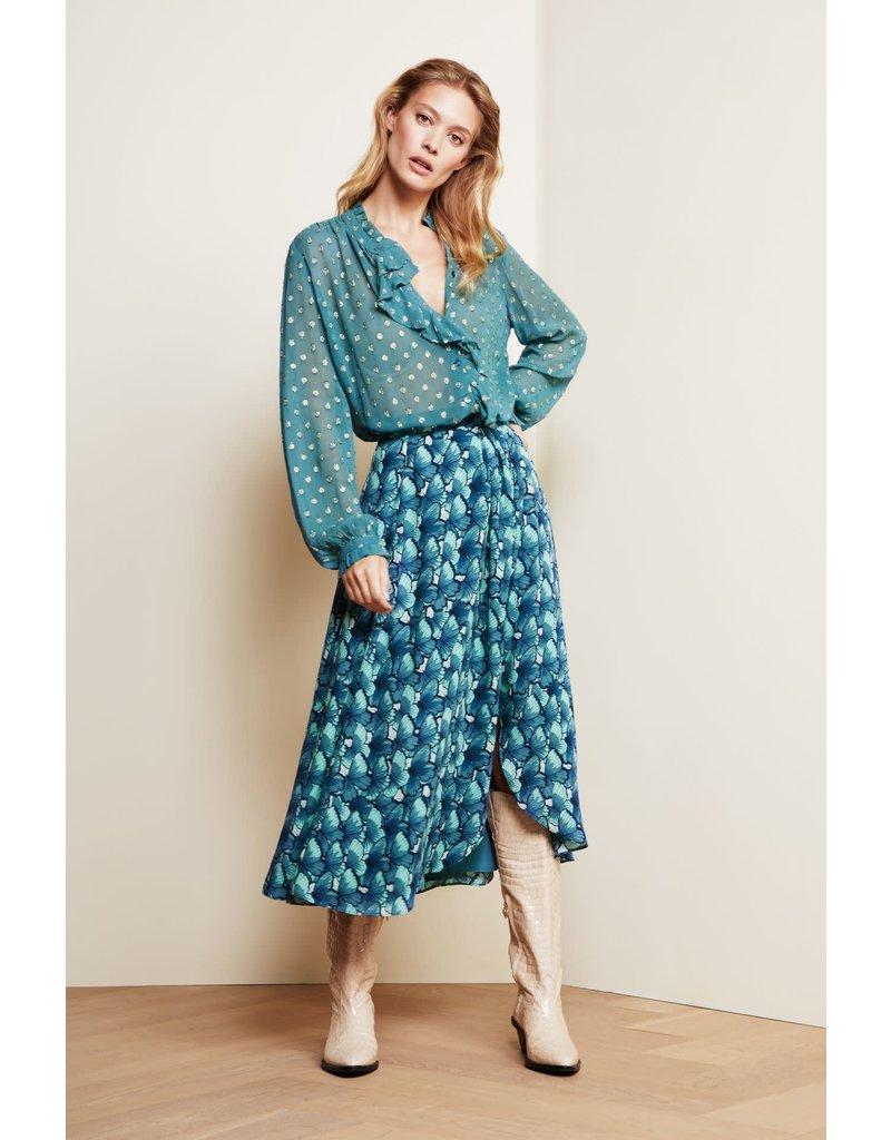 Fabienne Chapot Blouse Garden turquoise