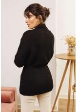 La petite etoile Vest gillet Clara zwart