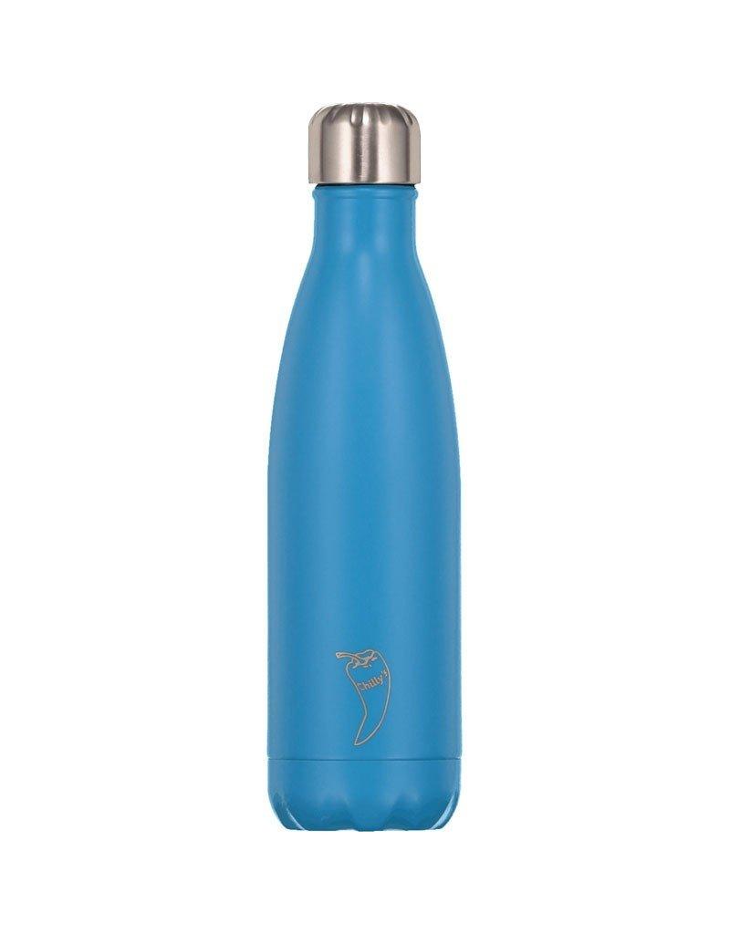 Chilly's Bottle 500 ML Neon Blue