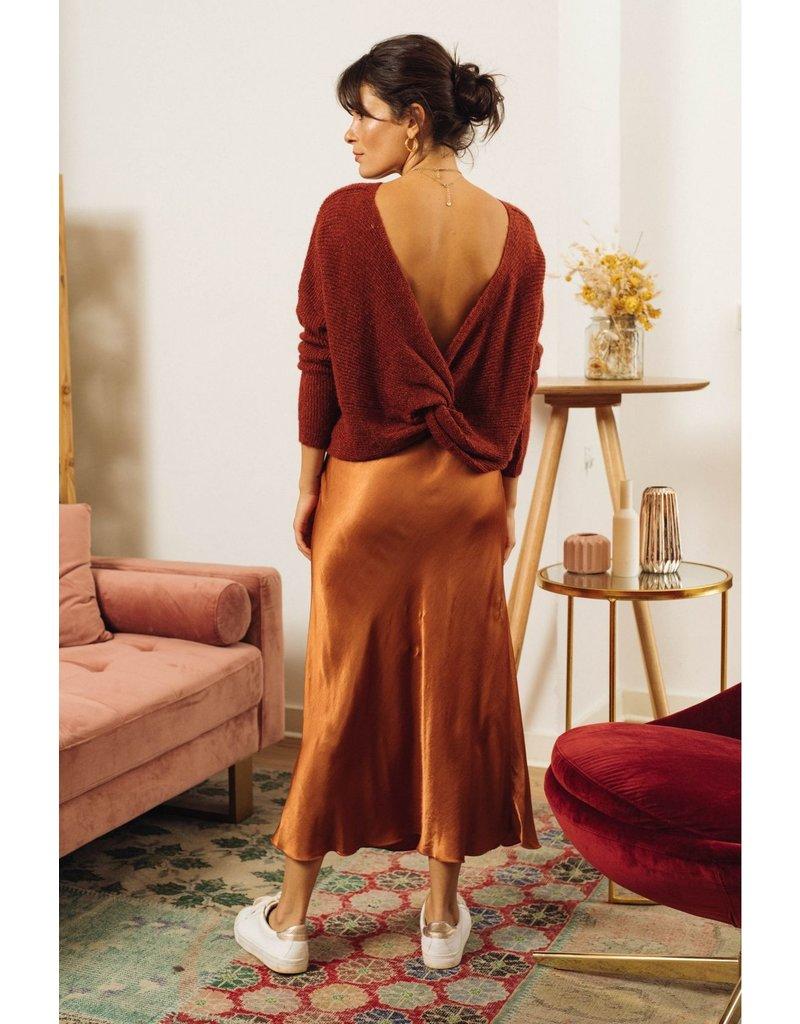 La petite etoile Camel skirt