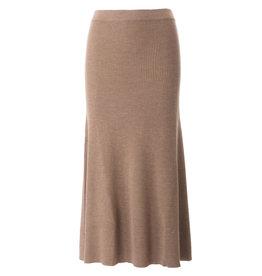 Repeat Skirt merino camel