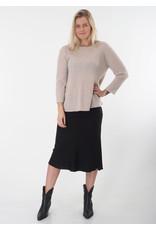 Repeat Skirt black silk