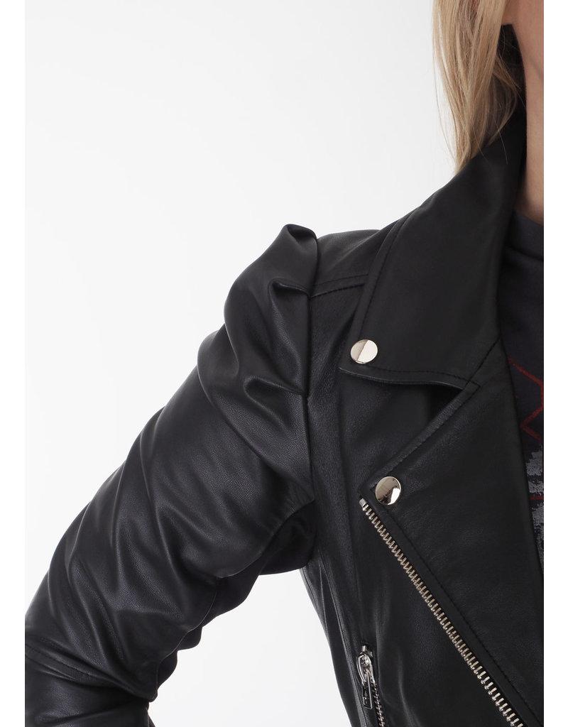 Dante 6 Leather Jacket Jae black
