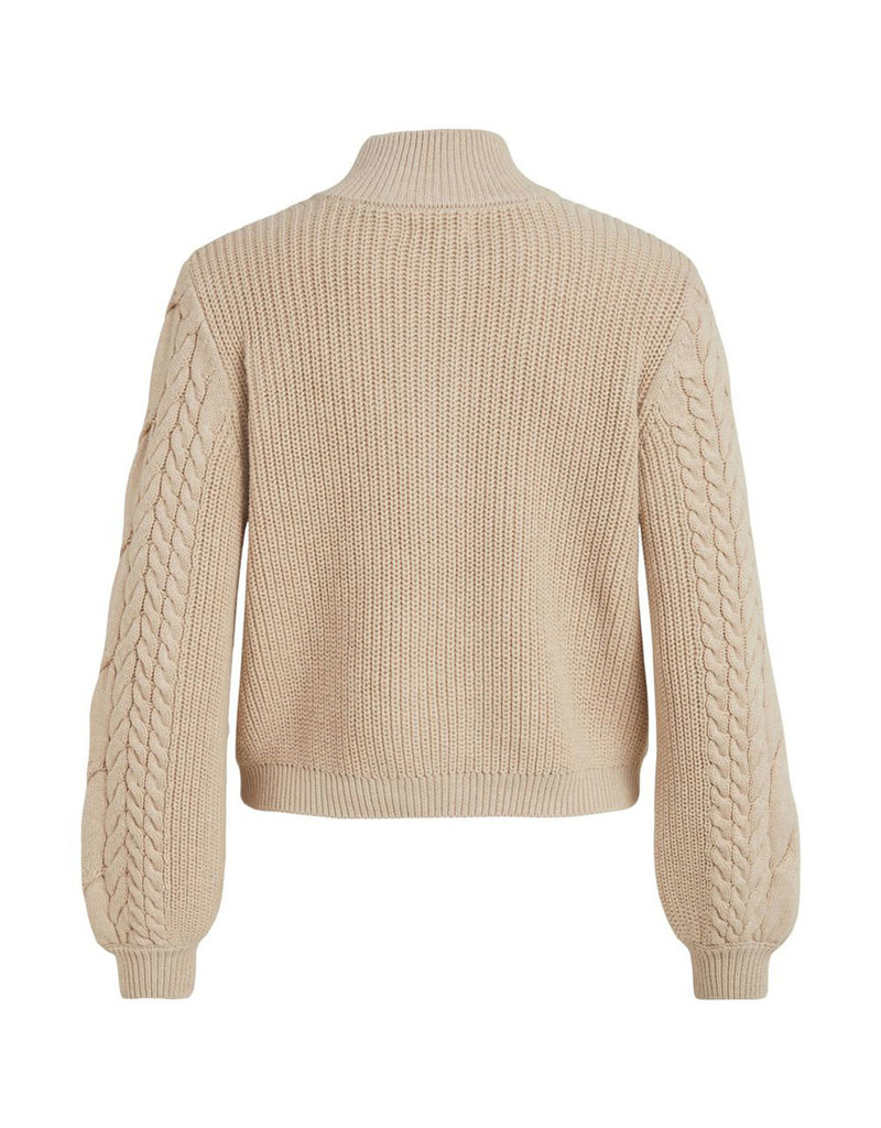 Object zip knit pullover Leonore