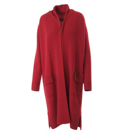 Repeat Cardigan rood