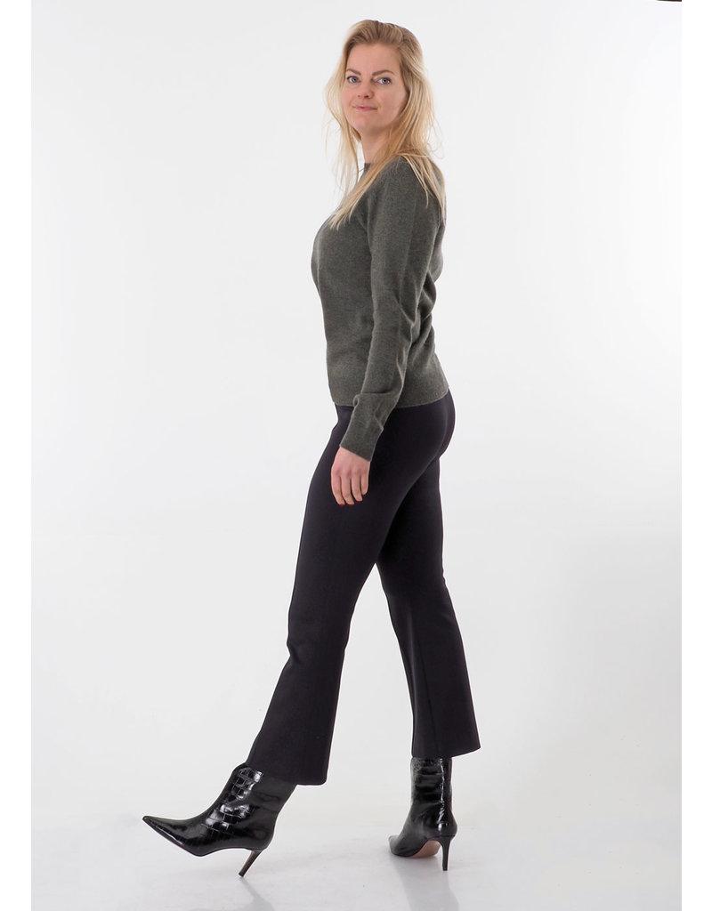 Fiveunits Flared pantalon zwart