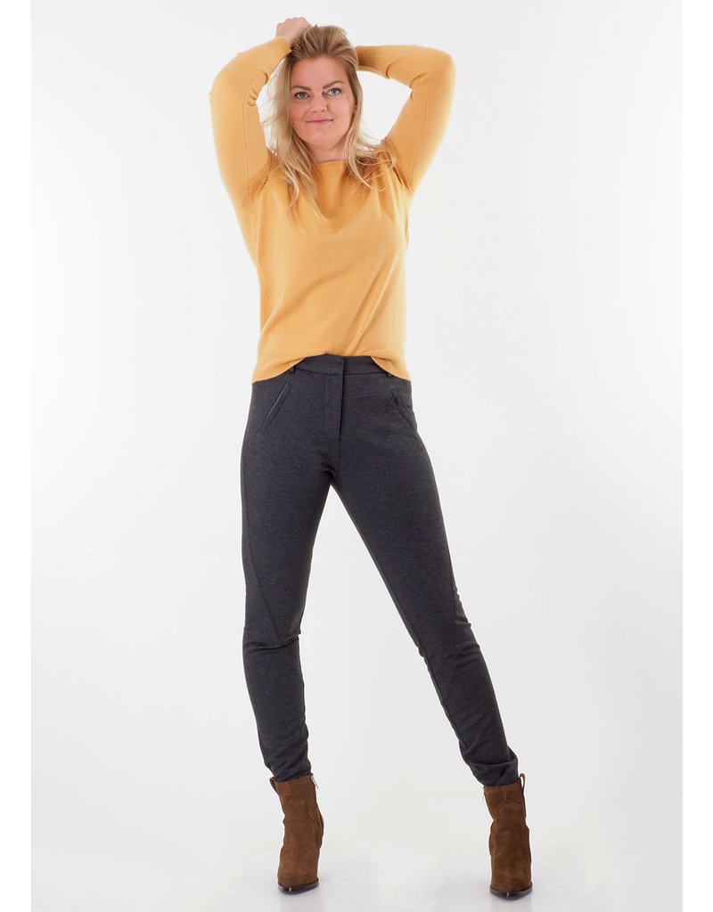 Repeat Pull 100% cashmere okergeel