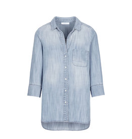 By-Bar Blouse Zoe denim lichtblauw