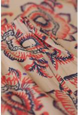 By-Bar Skirt Lien lotus print