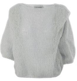 Femmes du Sud Handknitted Pull Olivie Grey