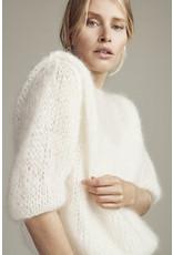 Femmes du Sud Handknitted Pull Olivie Offwhite