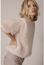 Femmes du Sud Handknitted Pull Olivie Peach
