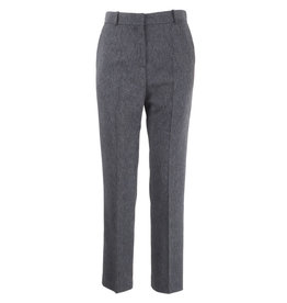 Manila Grace Pantalon regular grigio