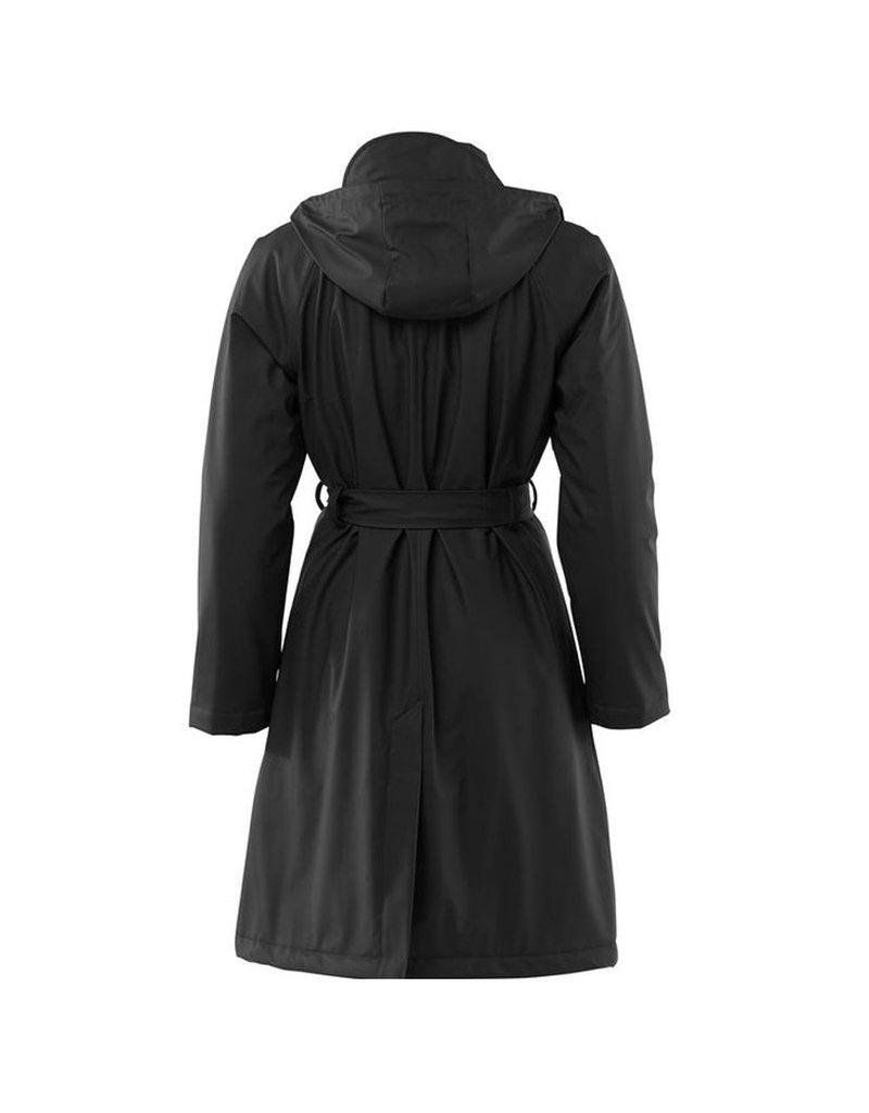 Rains W Trench Coat black