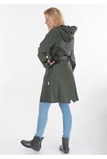 Rains Jacket curve Green