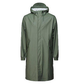 Rains Parka Fishtail Green