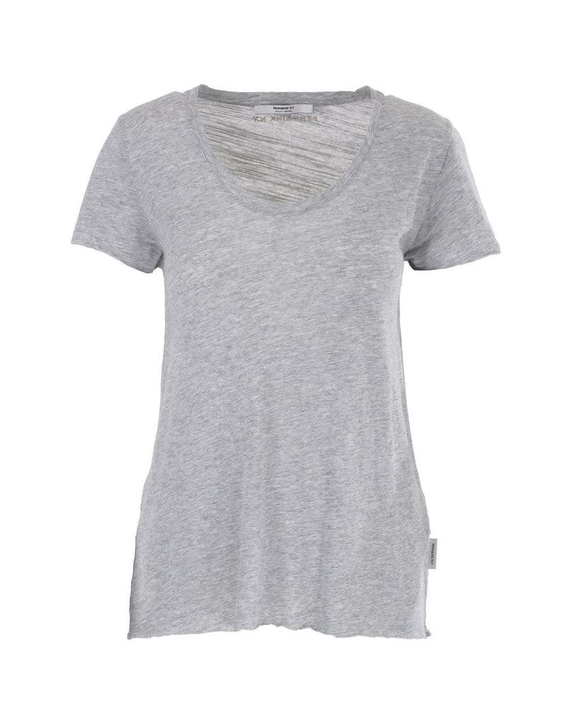 Penn&Ink T-shirt basic grey melange