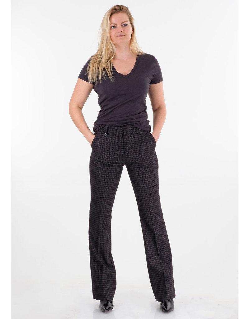 Fiveunits Pants Clara 740 black-boucle