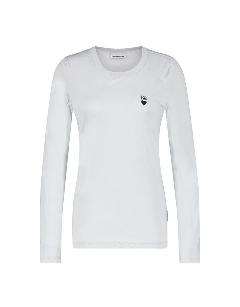 Penn&Ink Longsleeve shirt grijs