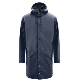 Rains Jacket long Blue