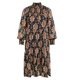 Object Dress Floralina black