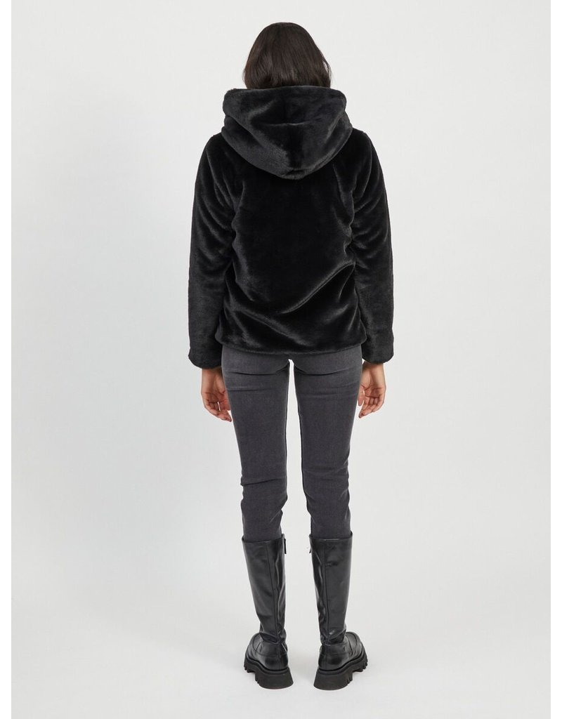 Object Coat Sandie black