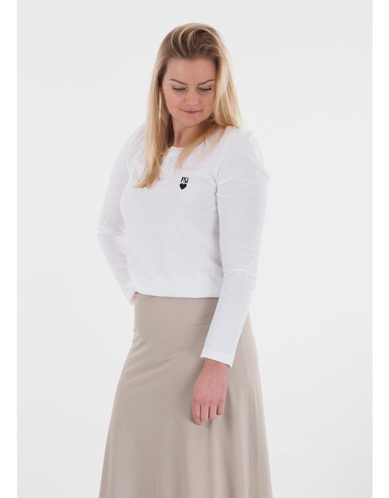 Penn&Ink N.Y. Longsleeve shirt white