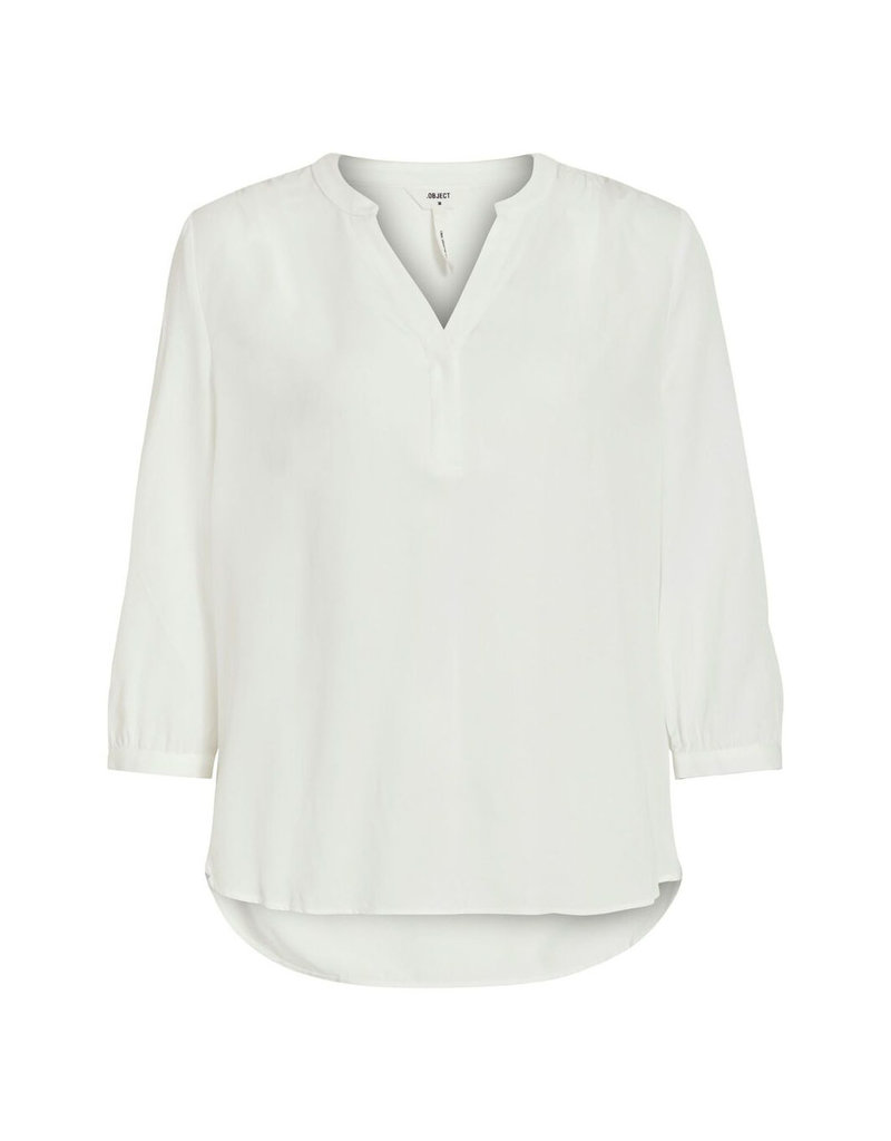 Object V-neck blouse Baya Cloud Dancer