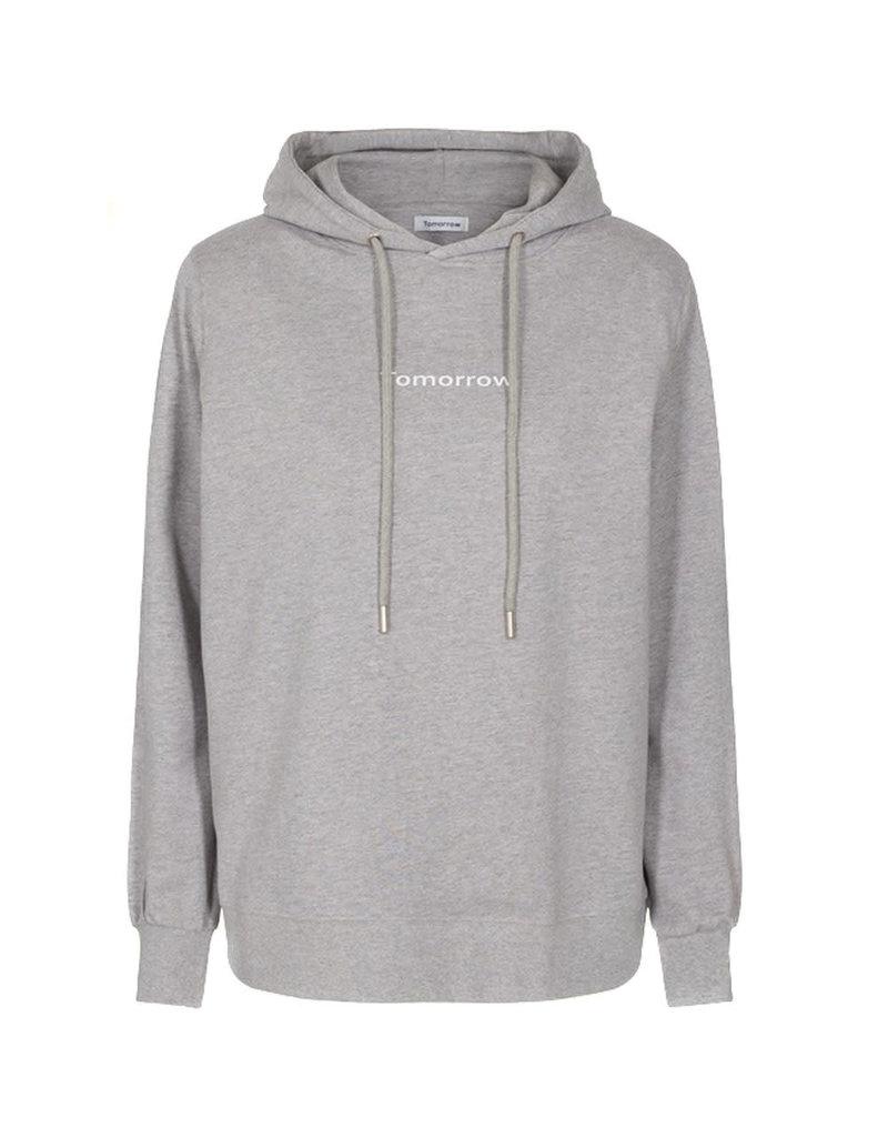 Tomorrow Hoodie casual grey