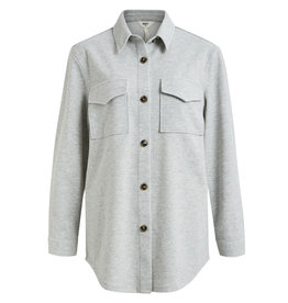 Object L/S Shirt Meza Light Grey