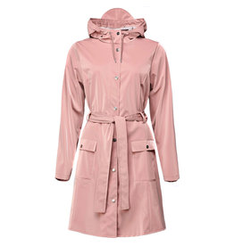 Rains Curve Jacket Blush