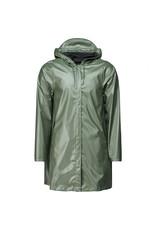 Rains Aline Jacket Shiny Olive