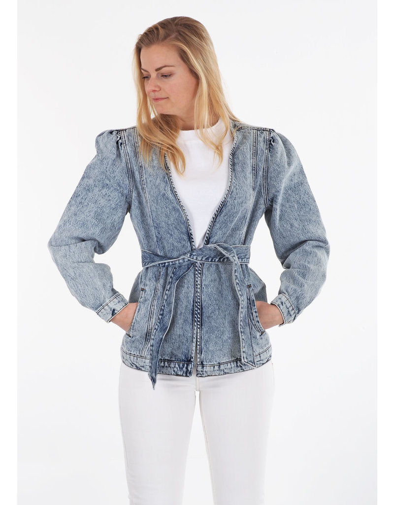 Tomorrow Jacket Hepburn denim wrap wash Melrose
