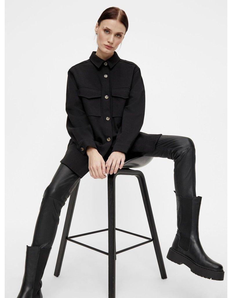 Object L/S Shirt Meza Black