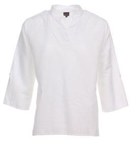 Aimee Blouse Isaa 3/4 sleeve White